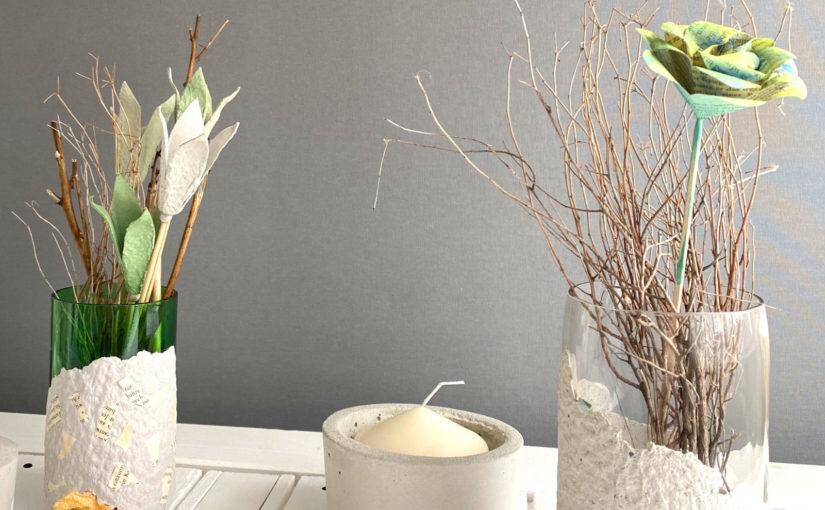 Blumenvasen für den Frühling