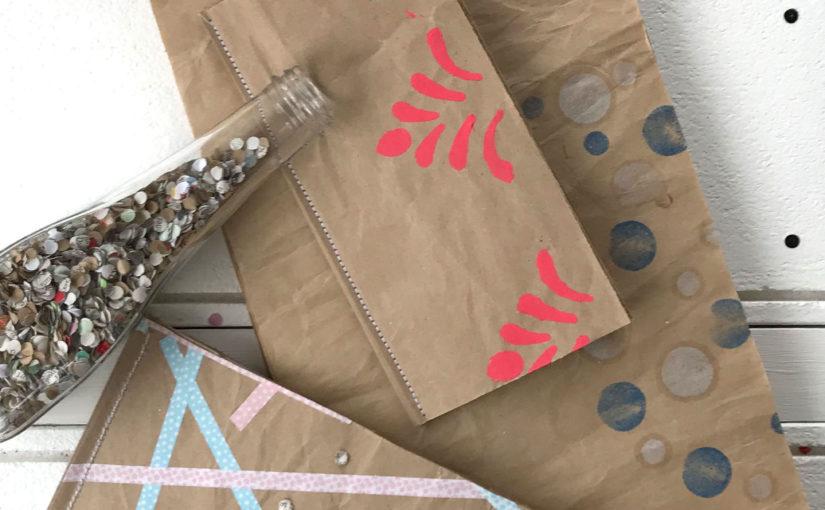 Packpapier-Notizblöcke – ehemals Geschenkpapier