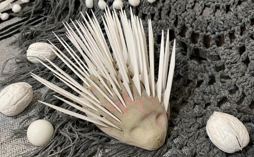 Igel aus Knetresten