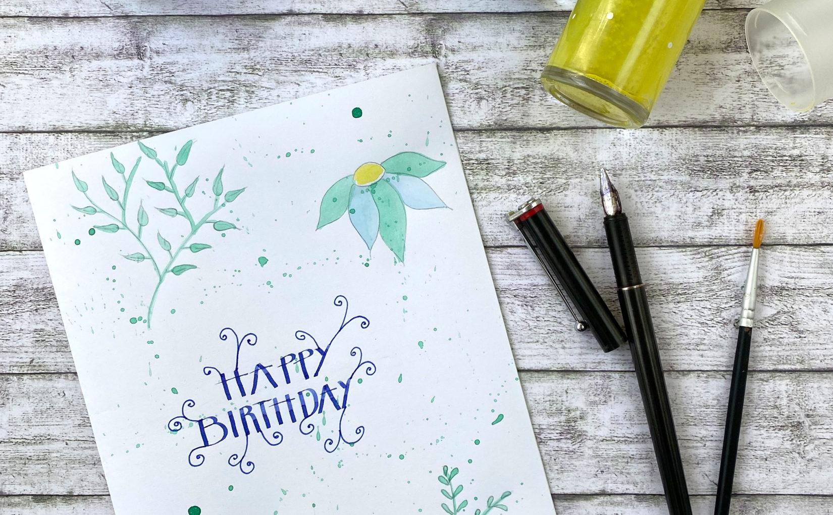 DIY-Feder für Kalligrafie
