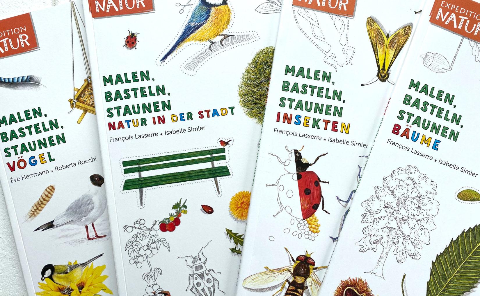 """Bücherreihe: """"Expedition Natur"""""""