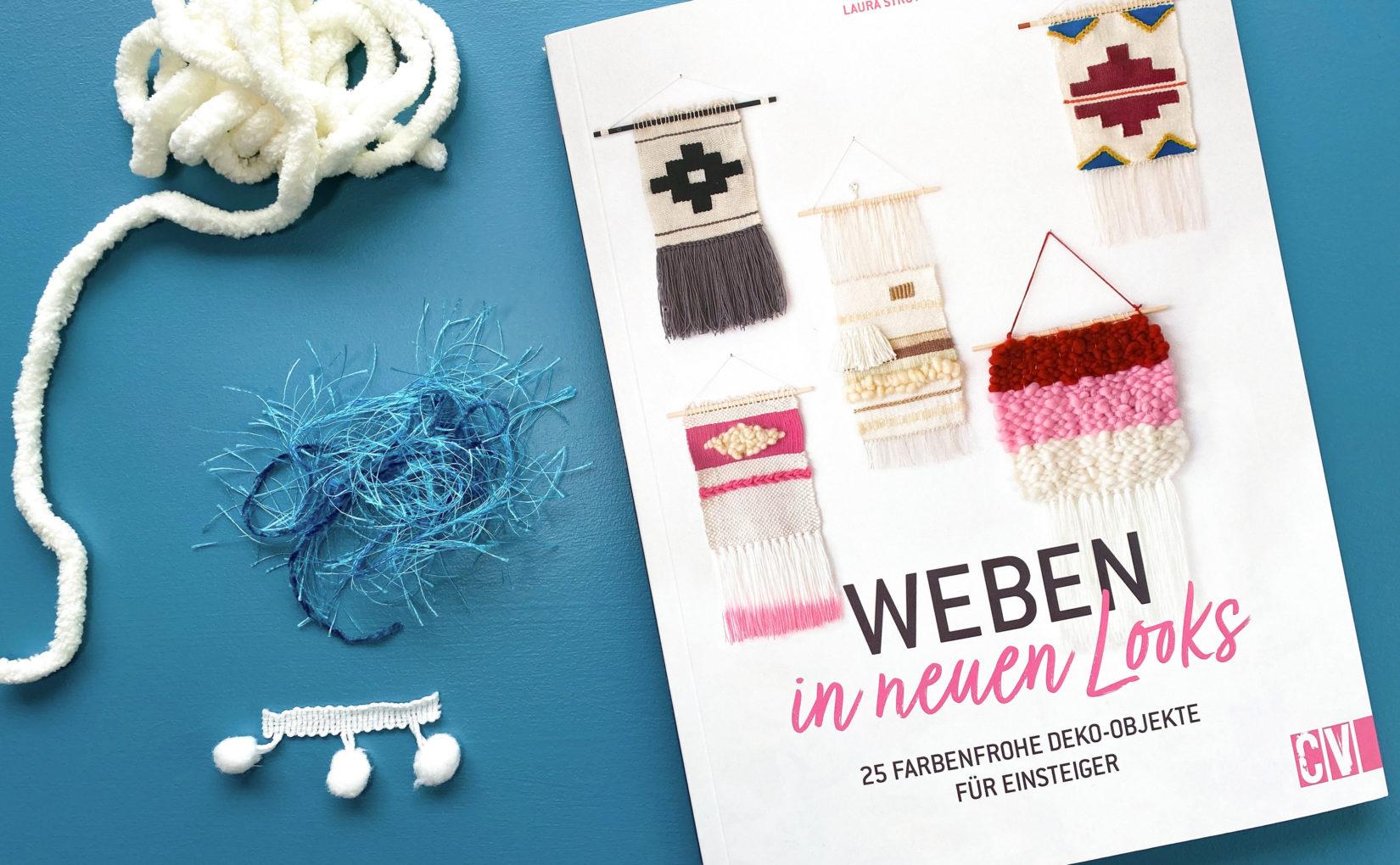 "Buchtipp: ""Weben in neuen Looks"""