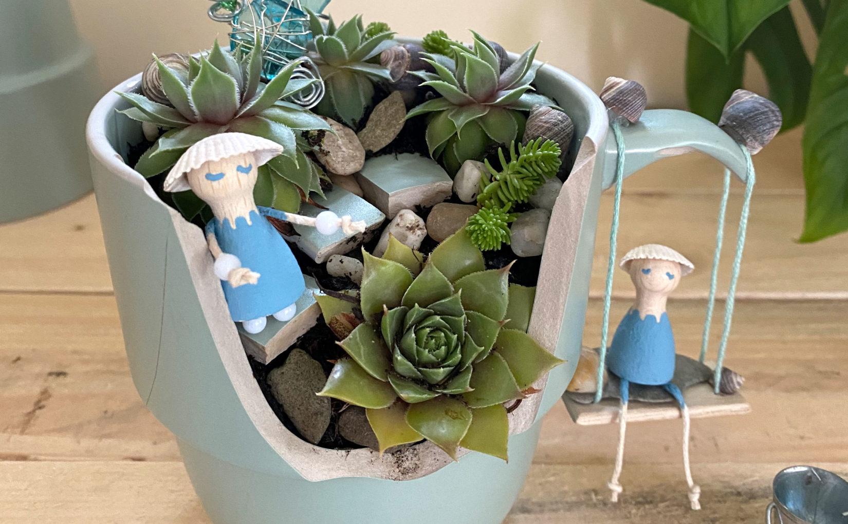 Tassengarten – Miniature Gardening