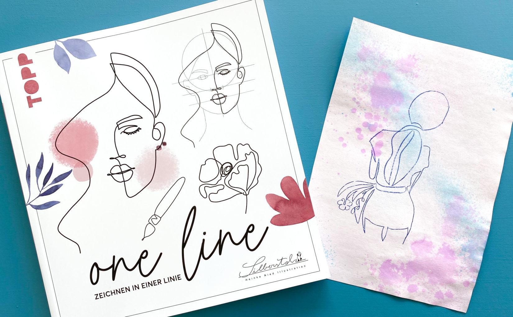 one line – Zeichnen in einer Linie