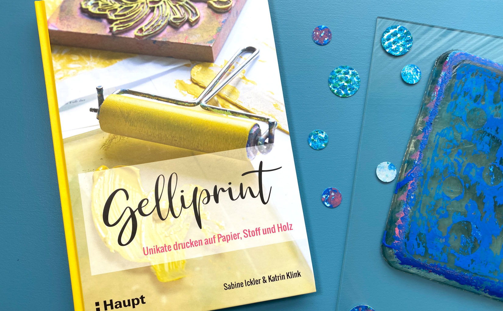 Gelliprint – Unikate drucken auf Papier, Stoff und Holz
